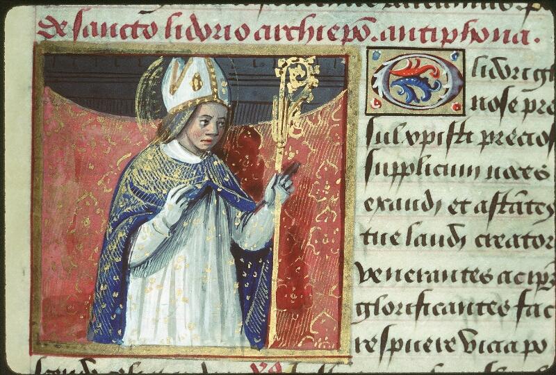 Tours, Bibl. mun., ms. 2104, f. 169 - vue 2