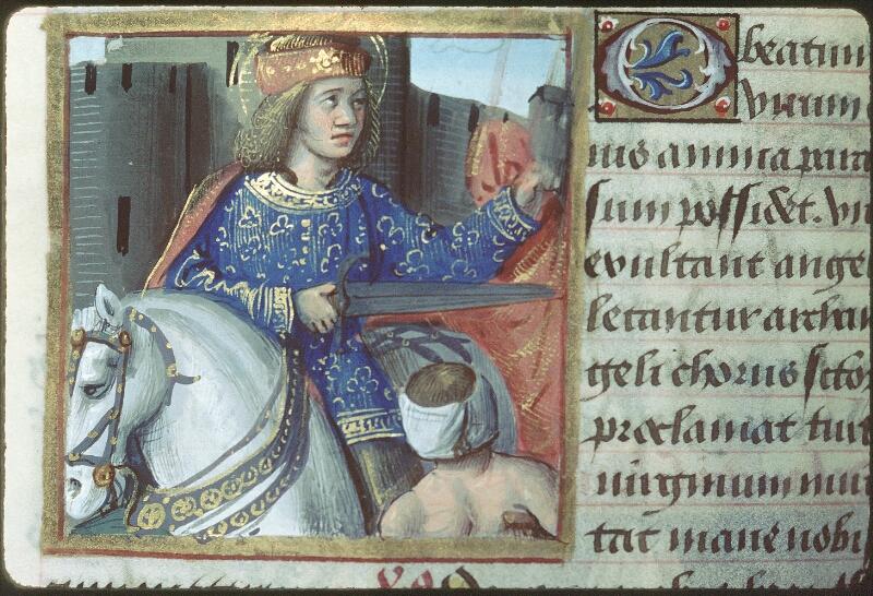 Tours, Bibl. mun., ms. 2104, f. 169v - vue 1