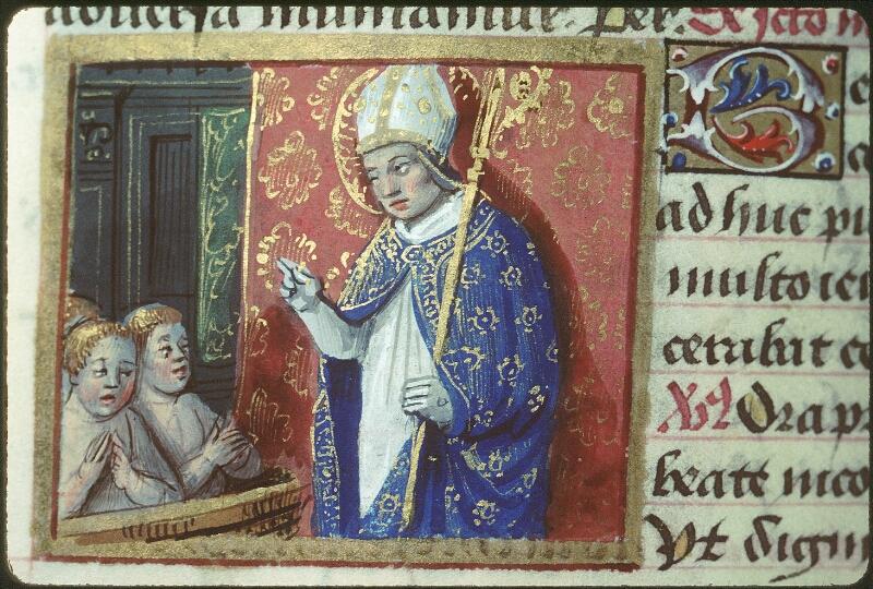 Tours, Bibl. mun., ms. 2104, f. 169v - vue 2