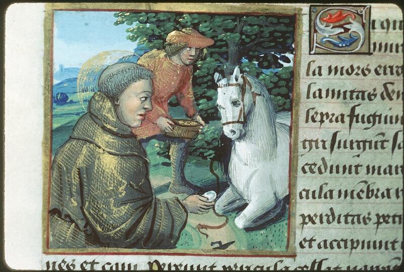 Tours, Bibl. mun., ms. 2104, f. 172v - vue 1