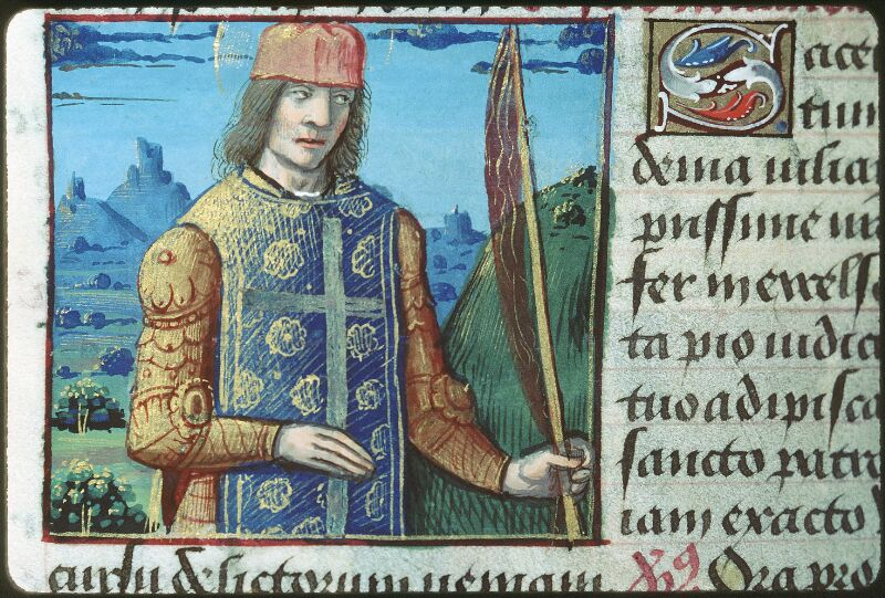 Tours, Bibl. mun., ms. 2104, f. 173v - vue 1