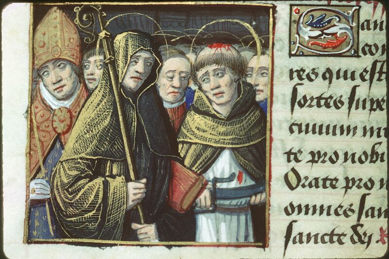 Tours, Bibl. mun., ms. 2104, f. 174v - vue 2