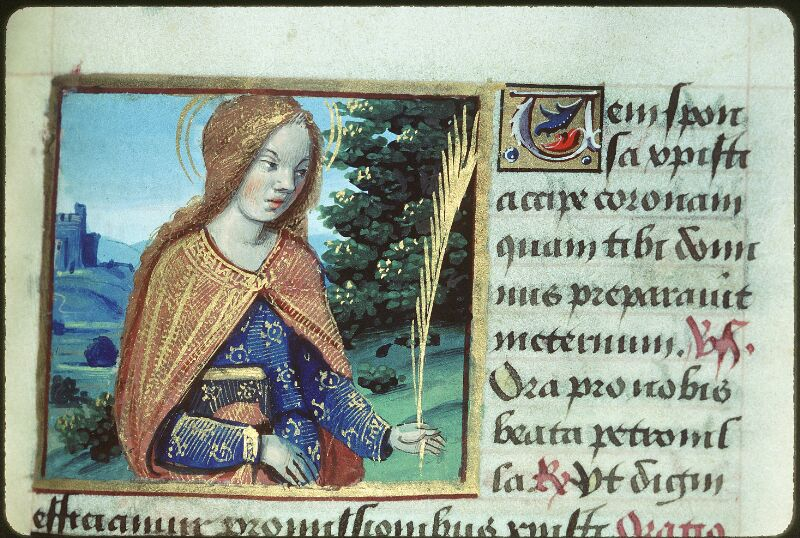 Tours, Bibl. mun., ms. 2104, f. 178 - vue 1