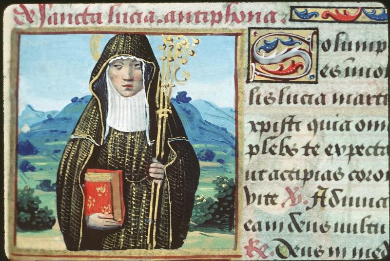 Tours, Bibl. mun., ms. 2104, f. 179 - vue 1