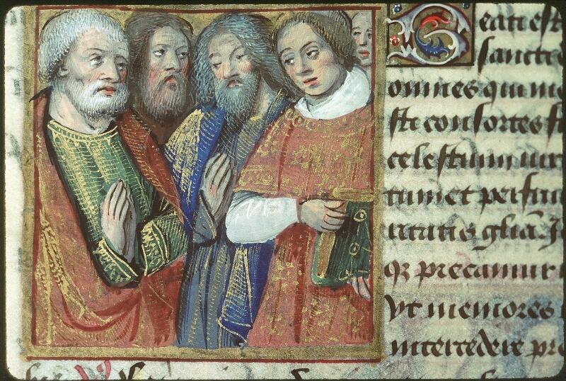 Tours, Bibl. mun., ms. 2104, f. 180v - vue 1