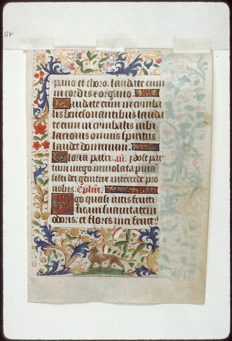 Tours, Bibl. mun., ms. 2273 A, f. 010
