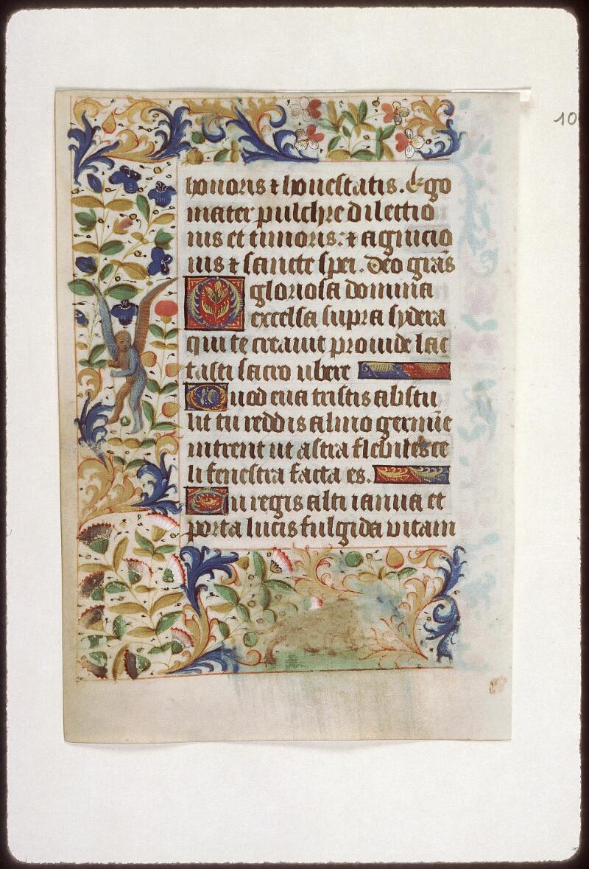 Tours, Bibl. mun., ms. 2273 A, f. 010v - vue 1