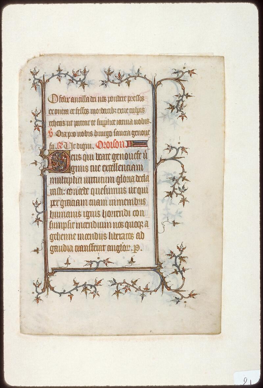 Tours, Bibl. mun., ms. 2273 B, recto - vue 2