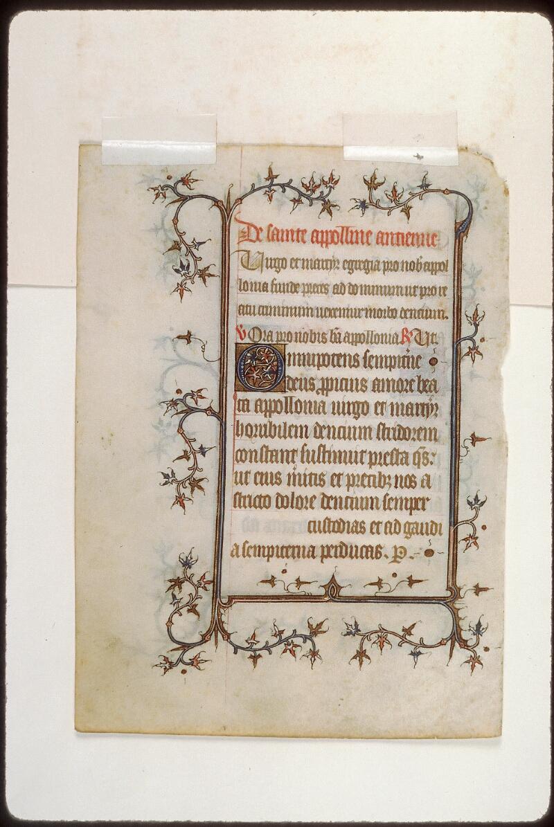 Tours, Bibl. mun., ms. 2273 B, verso