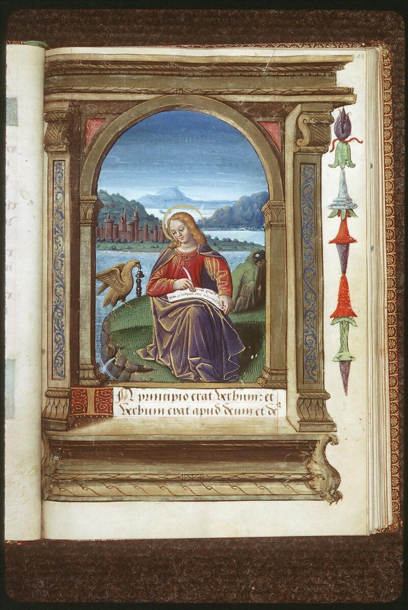 Tours, Bibl. mun., ms. 2283, f. 013 - vue 1