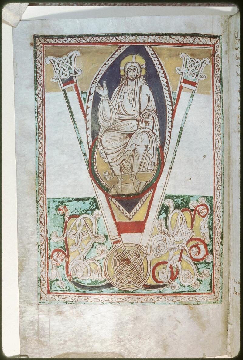 Tours, Bibl. mun., ms. Diocèse 01, f. 208v - vue 1