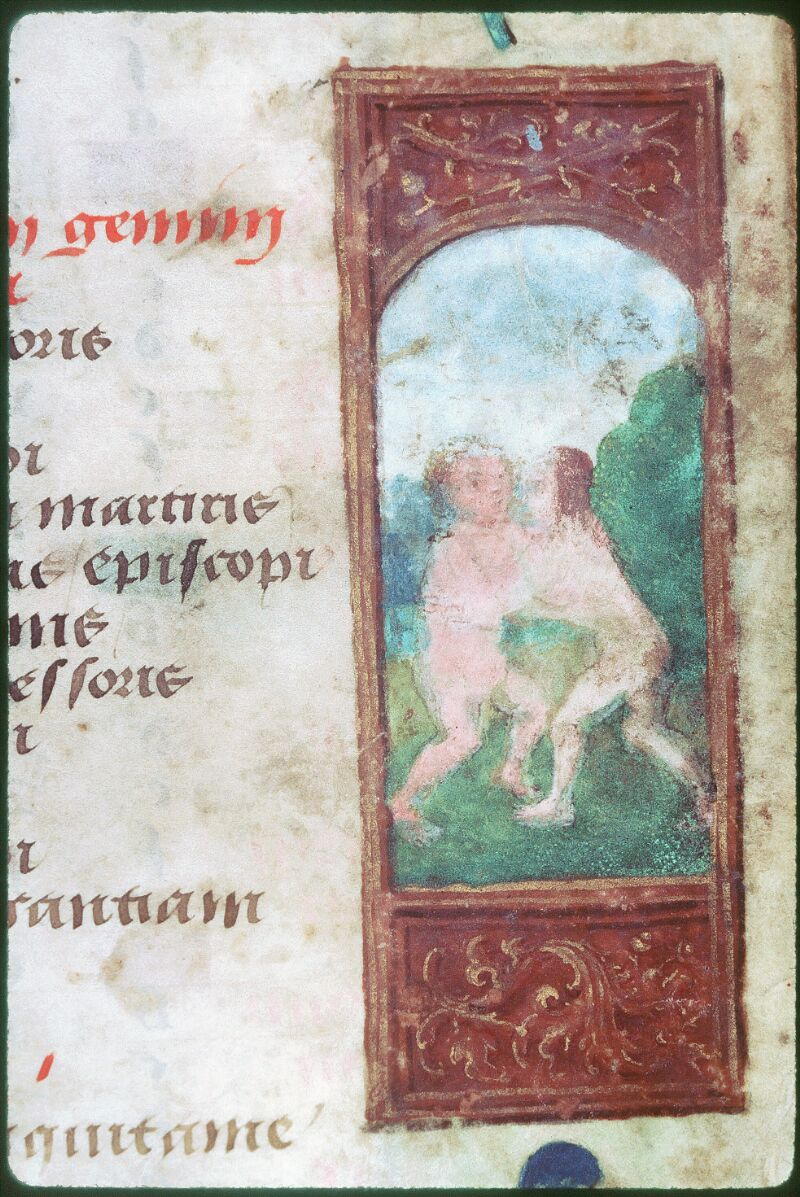 Tours, Bibl. mun., ms. Diocèse 05, f. 002 - vue 2