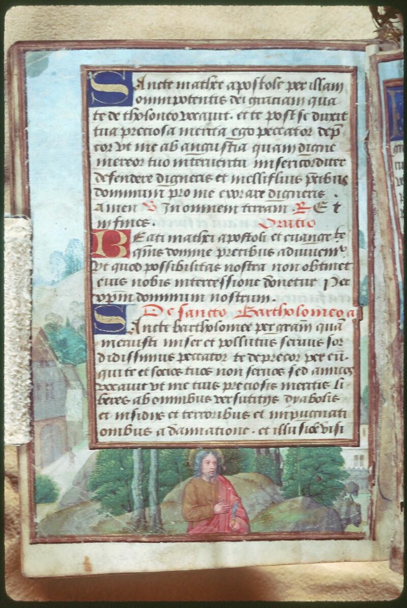 Tours, Bibl. mun., ms. Diocèse 05, f. 113v - vue 1