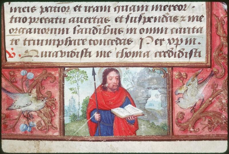 Tours, Bibl. mun., ms. Diocèse 05, f. 117 - vue 2
