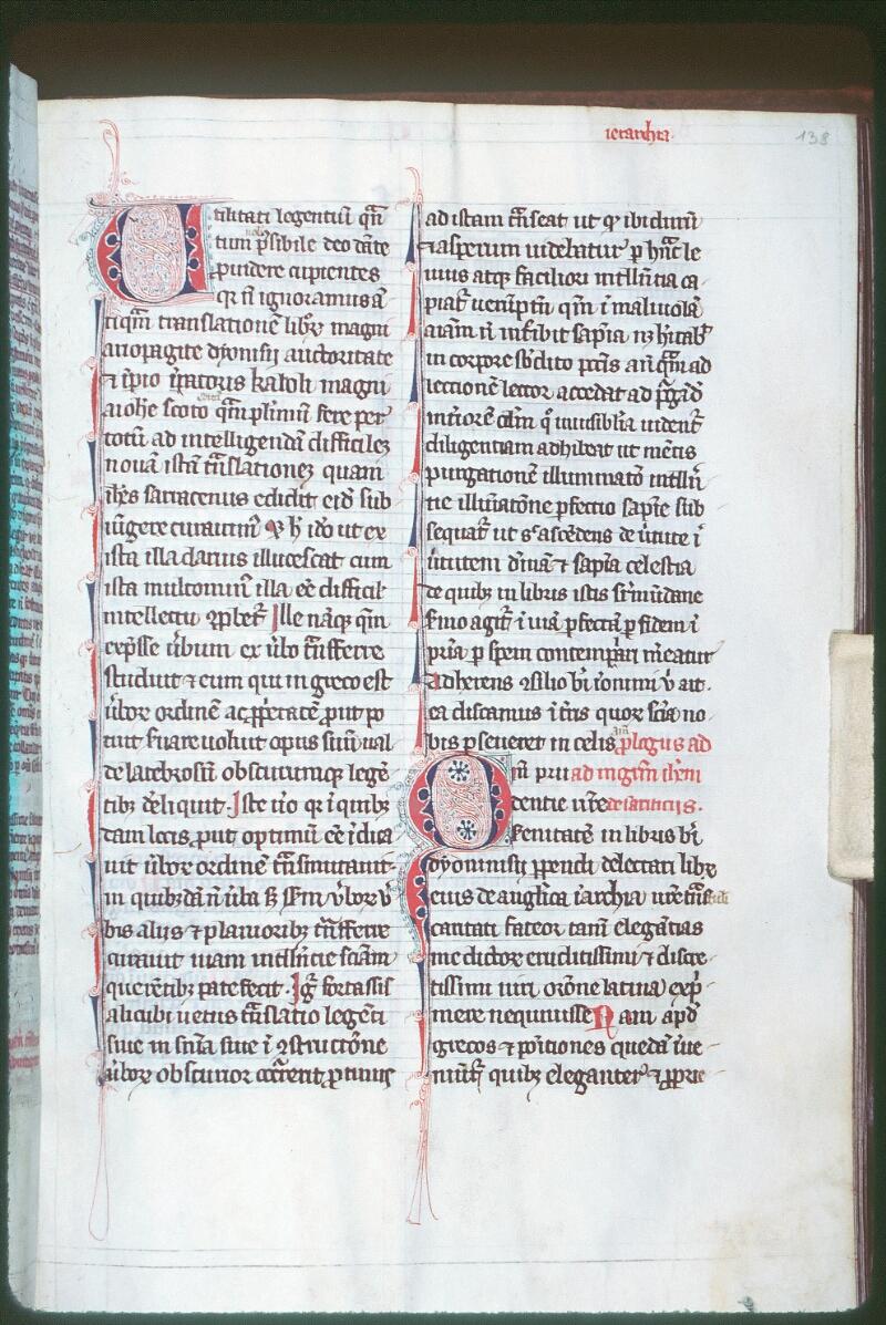 Tours, Bibl. mun., ms. Diocèse 06, f. 138