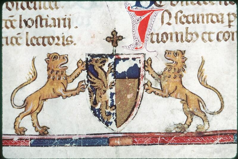 Tours, Bibl. mun., ms. Diocèse 08, f. 001 - vue 4
