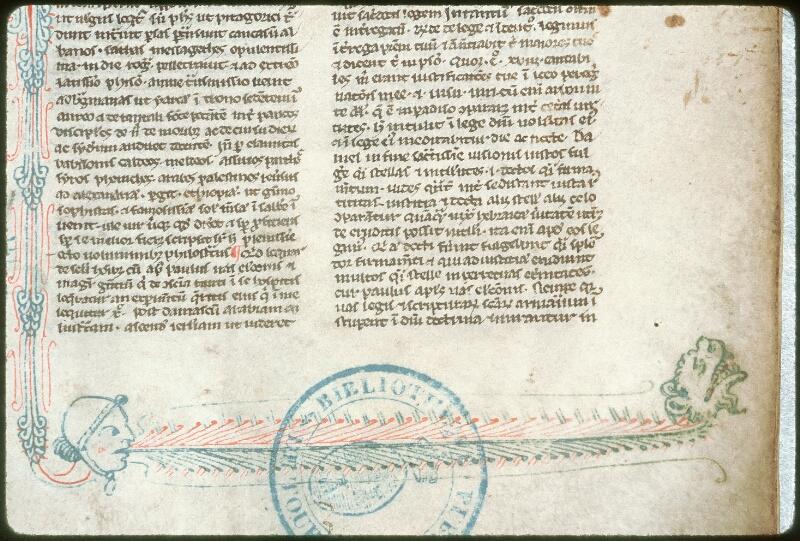 Tours, Bibl. mun., ms. 0006, f. 001 - vue 2