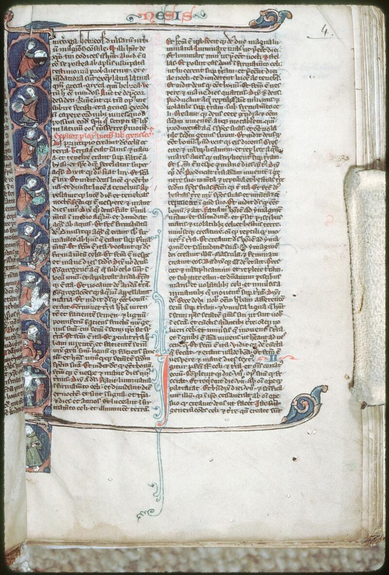 Tours, Bibl. mun., ms. 0007, f. 004 - vue 1