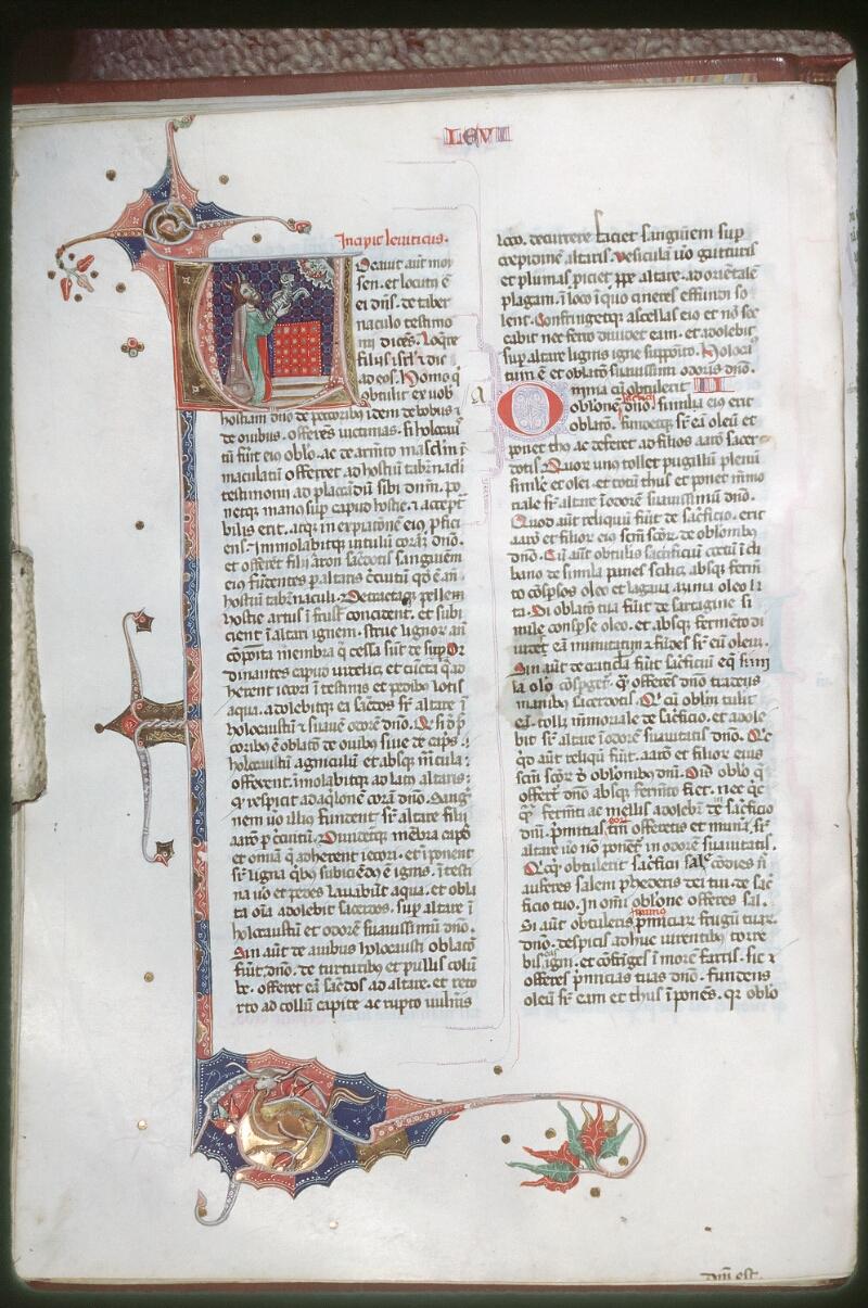 Tours, Bibl. mun., ms. 0008, f. 042v - vue 1