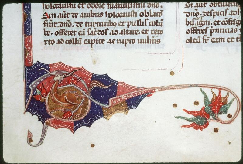 Tours, Bibl. mun., ms. 0008, f. 042v - vue 3