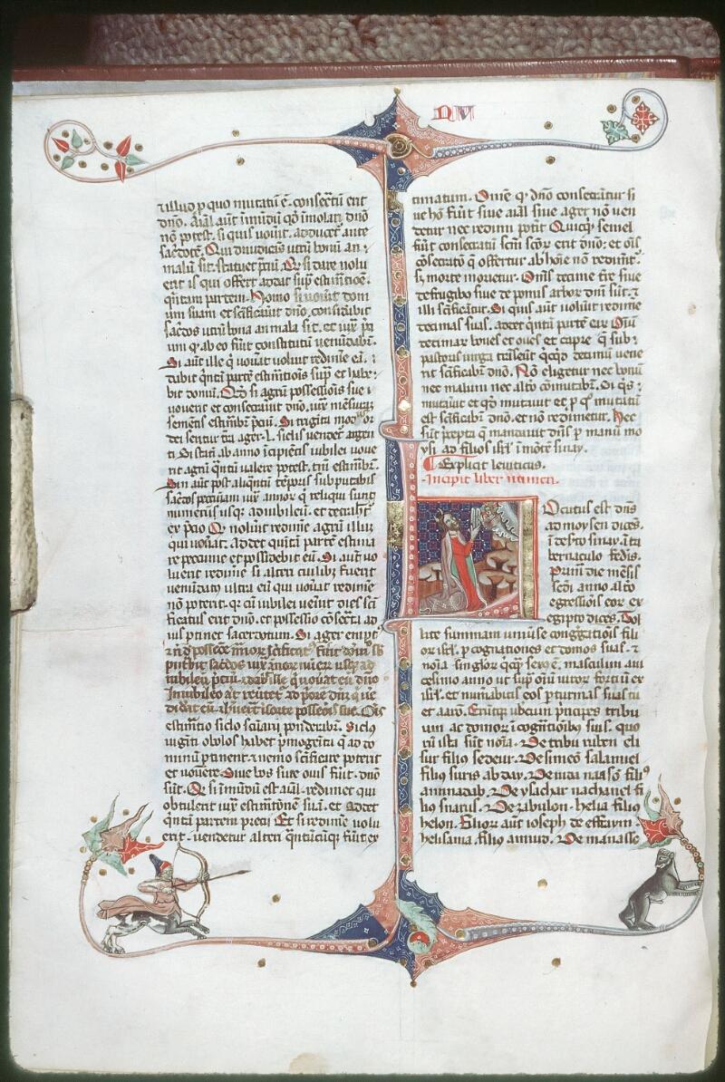 Tours, Bibl. mun., ms. 0008, f. 054v - vue 1