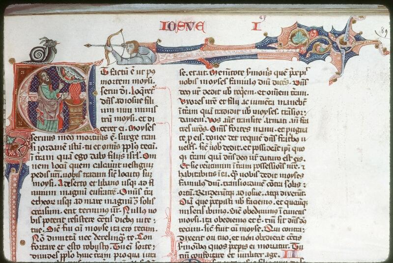 Tours, Bibl. mun., ms. 0008, f. 089 - vue 1