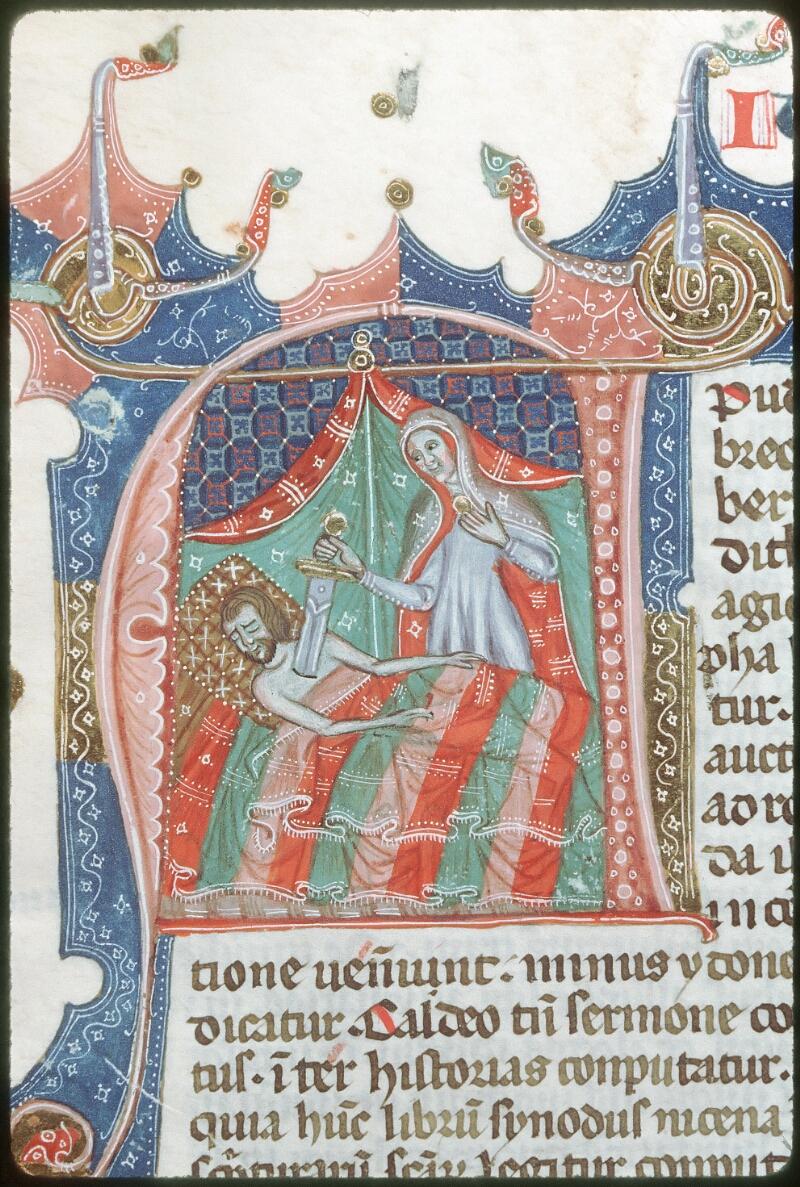 Tours, Bibl. mun., ms. 0008, f. 258 - vue 1