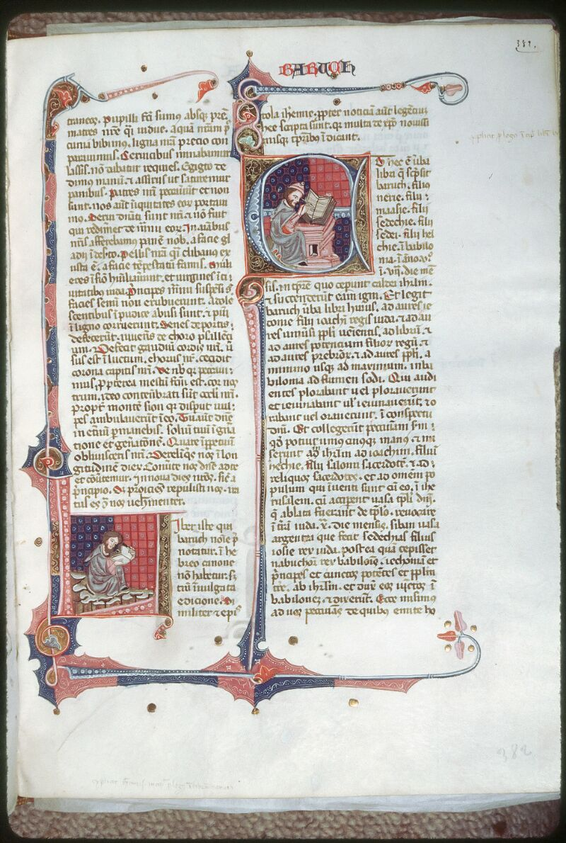 Tours, Bibl. mun., ms. 0008, f. 382 - vue 1