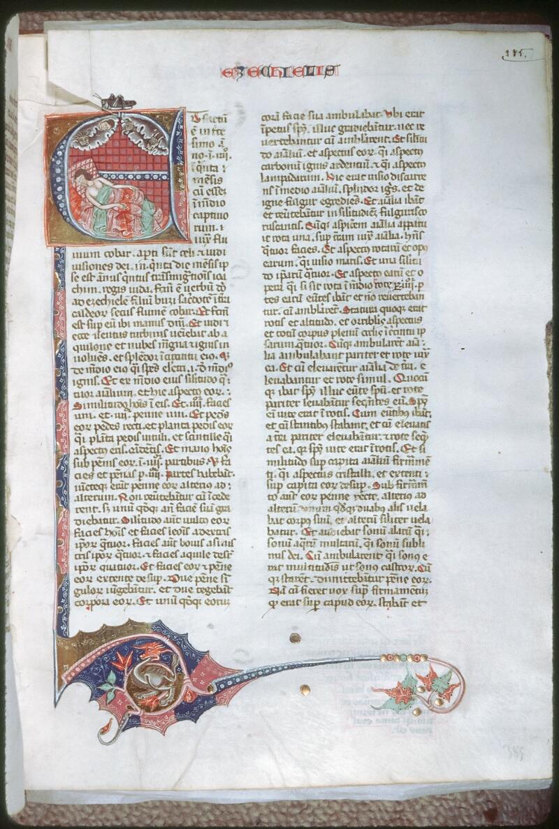 Tours, Bibl. mun., ms. 0008, f. 385 - vue 1