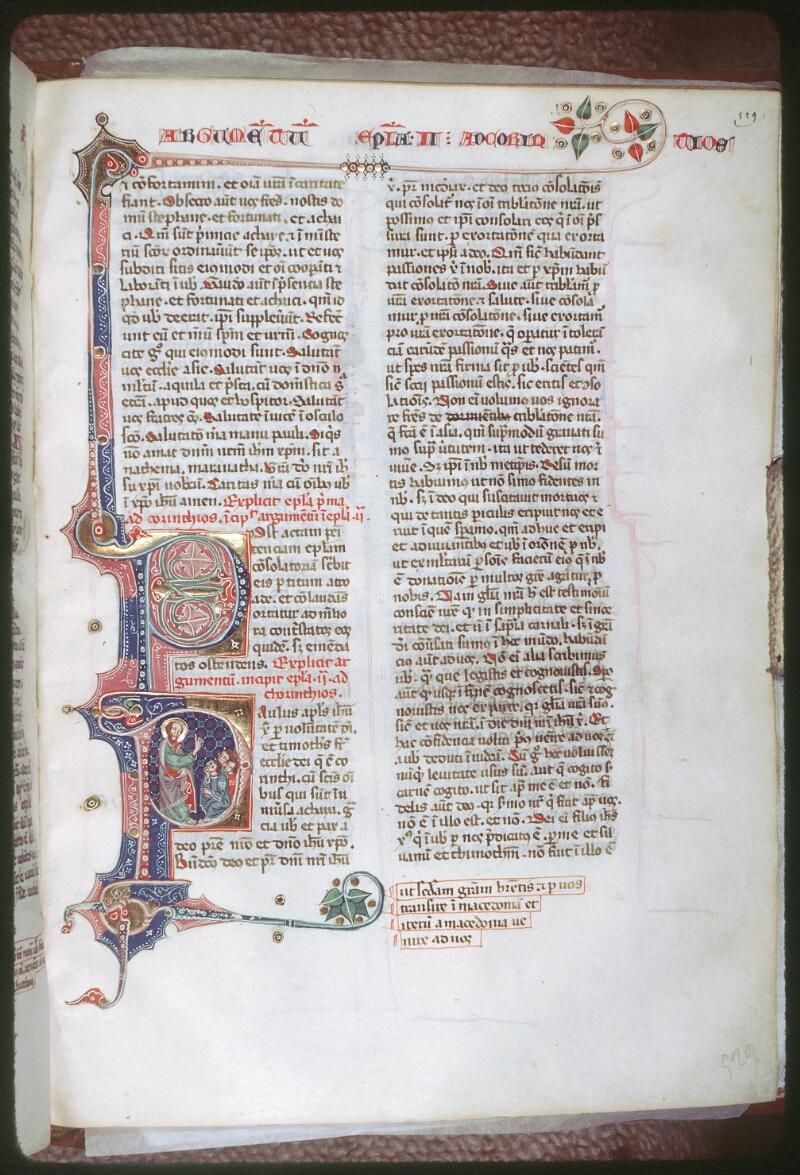Tours, Bibl. mun., ms. 0008, f. 529 - vue 1