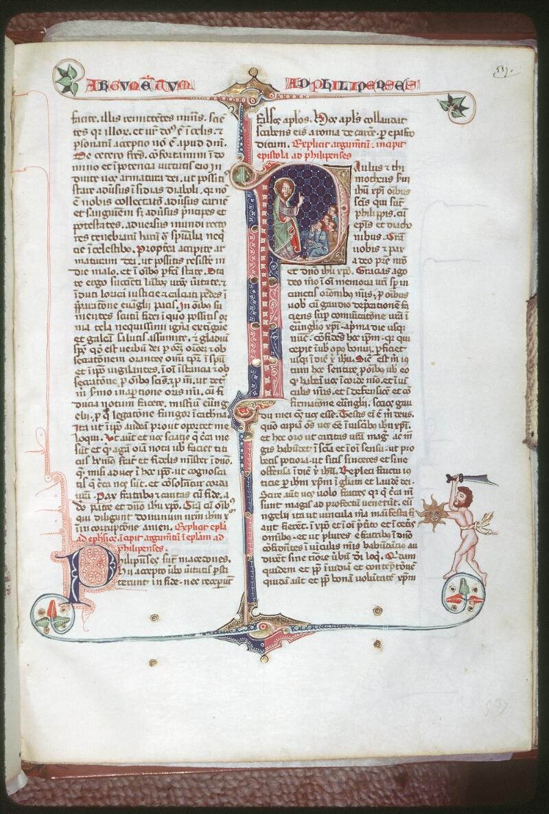 Tours, Bibl. mun., ms. 0008, f. 537 - vue 1