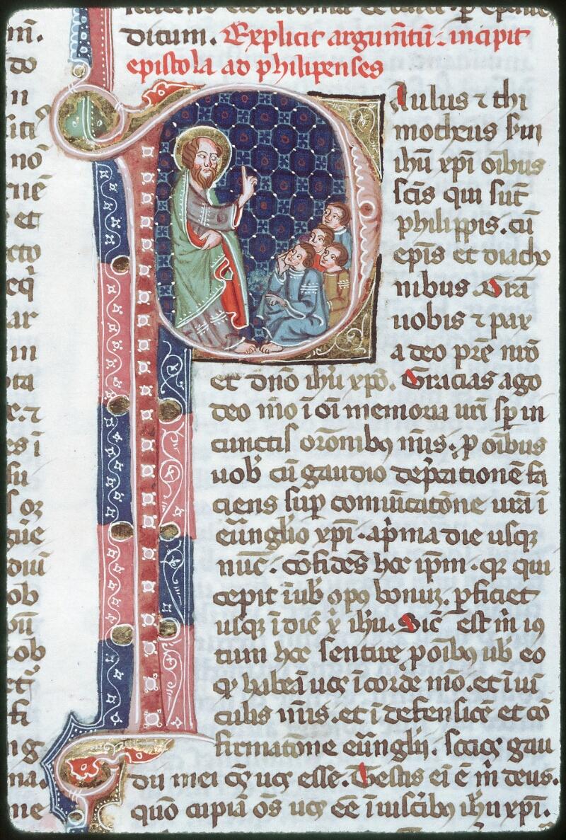Tours, Bibl. mun., ms. 0008, f. 537 - vue 2