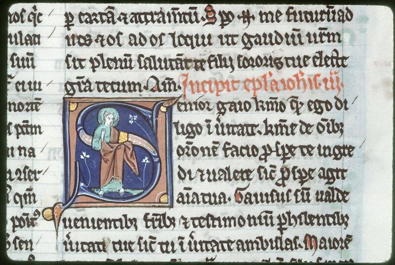 Tours, Bibl. mun., ms. 0011, f. 255 bis - vue 2