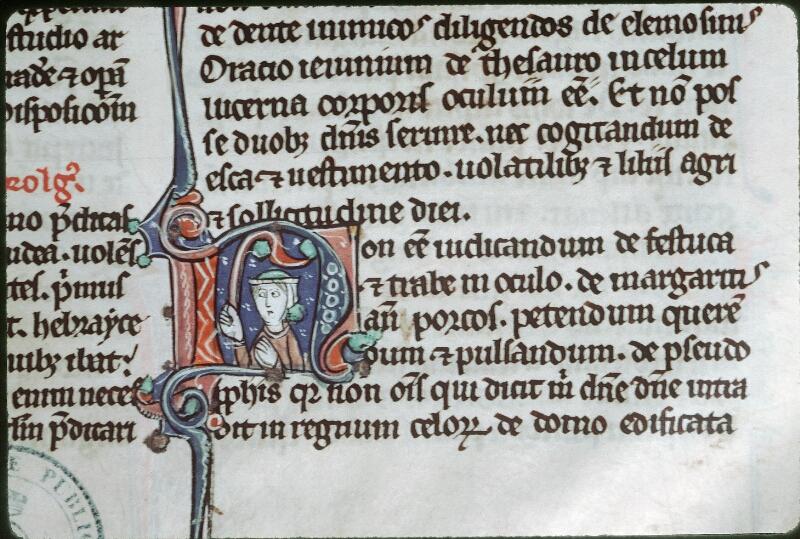 Tours, Bibl. mun., ms. 0013, f. 001 - vue 2