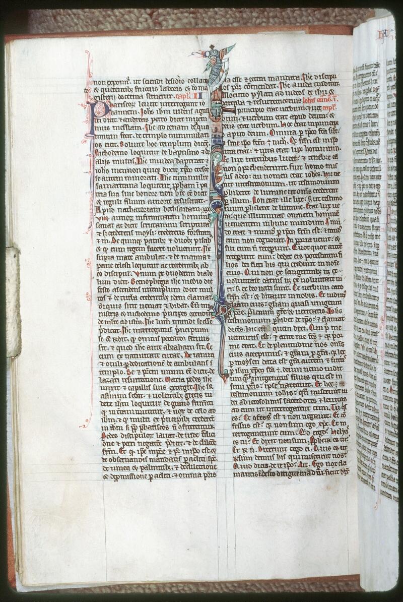 Tours, Bibl. mun., ms. 0013, f. 038v - vue 1