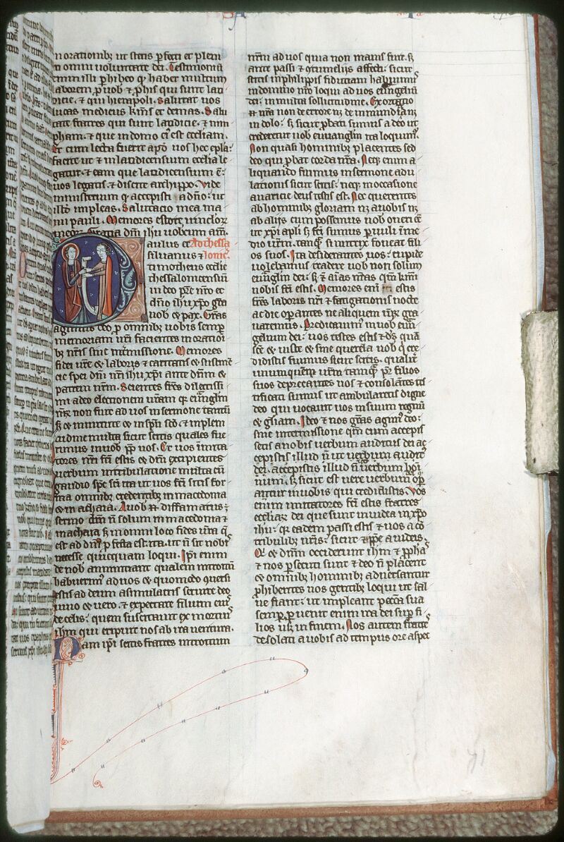 Tours, Bibl. mun., ms. 0013, f. 071 - vue 1