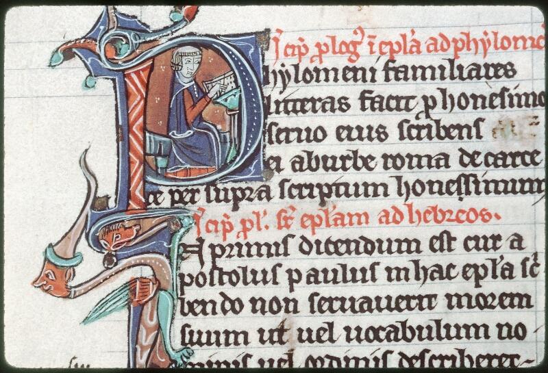 Tours, Bibl. mun., ms. 0013, f. 160v - vue 2