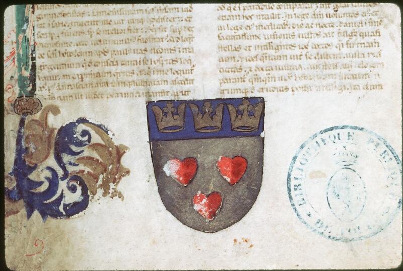 Tours, Bibl. mun., ms. 0016, f. 001 - vue 2