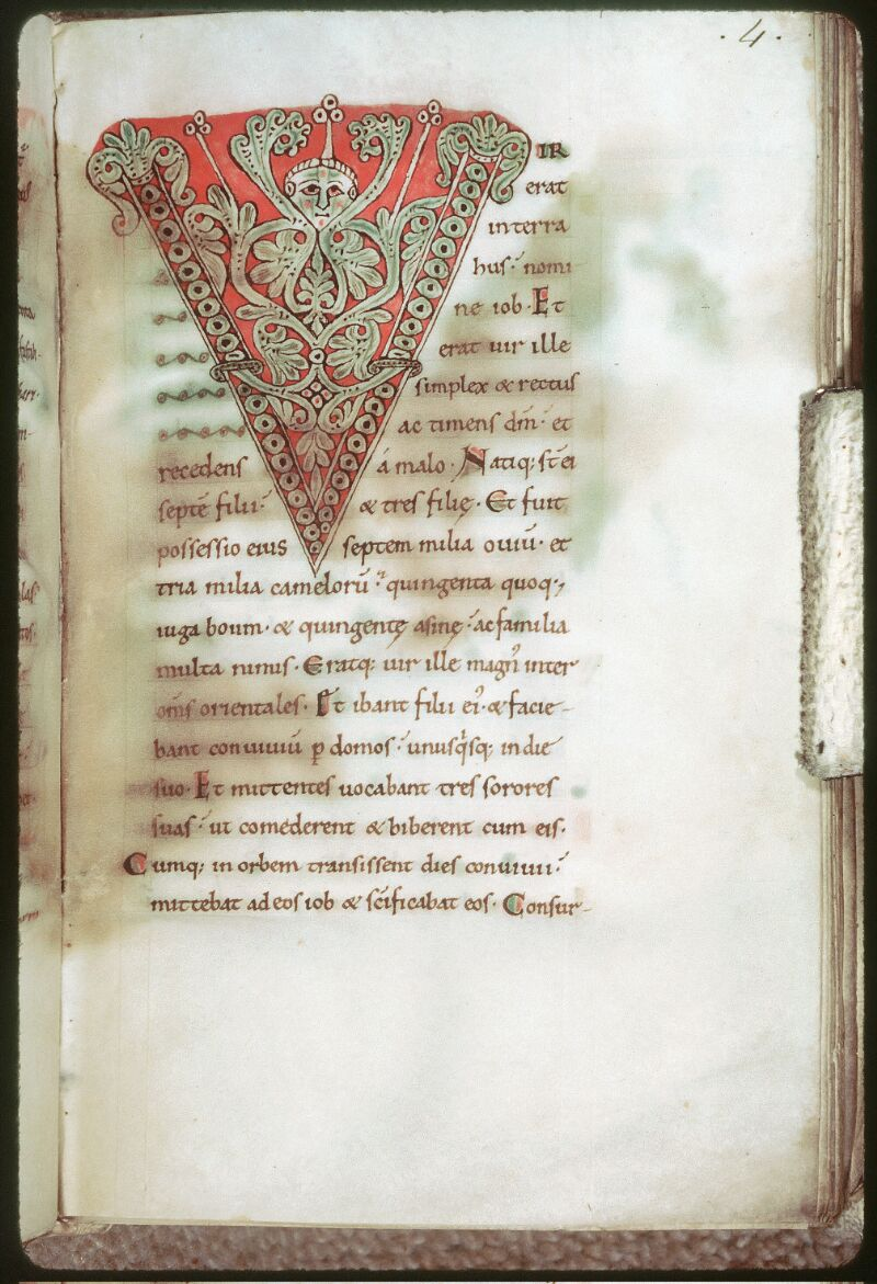 Tours, Bibl. mun., ms. 0018, f. 004 - vue 1