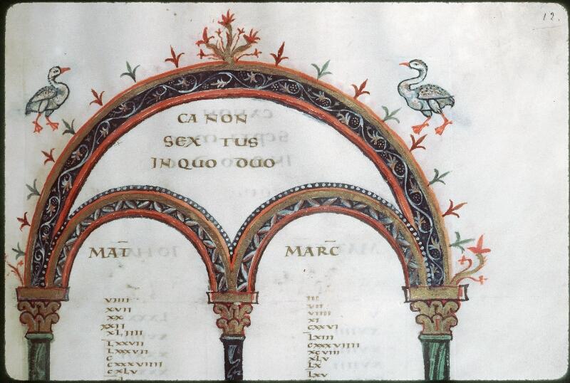 Tours, Bibl. mun., ms. 0022, f. 012 - vue 2