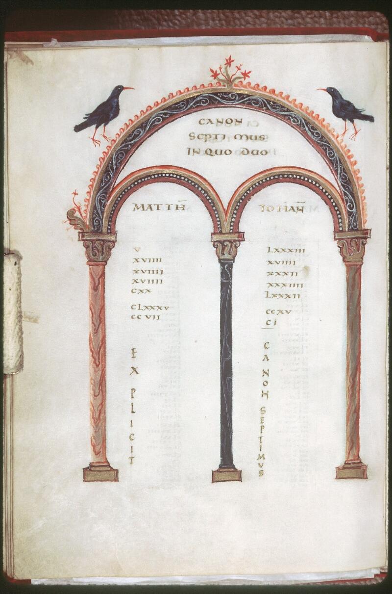 Tours, Bibl. mun., ms. 0022, f. 012v - vue 1