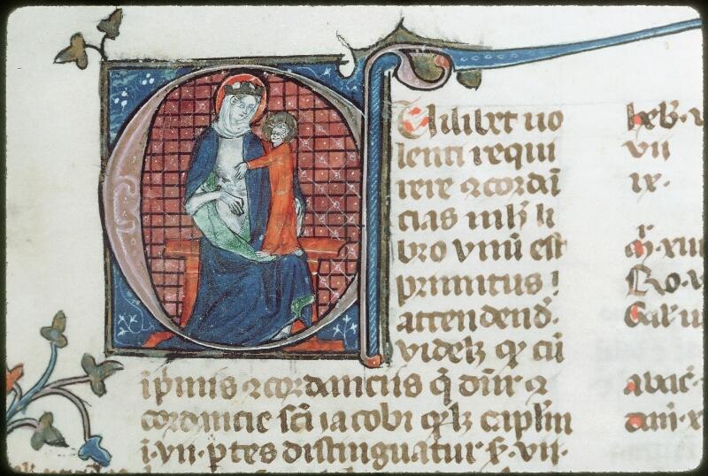 Tours, Bibl. mun., ms. 0028, f. 001 - vue 2