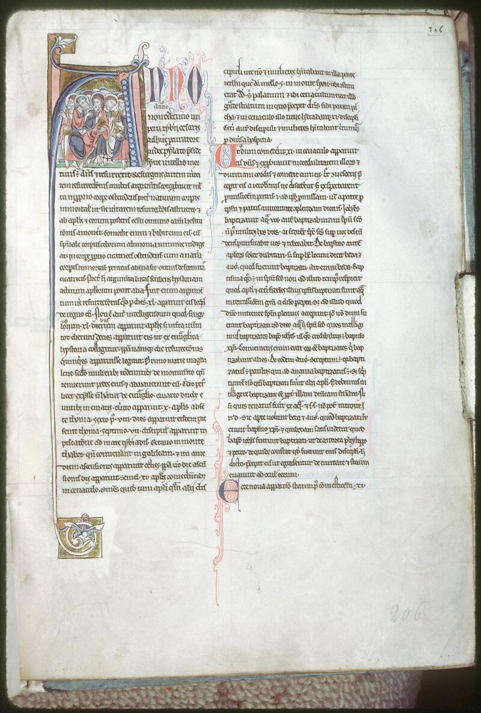 Tours, Bibl. mun., ms. 0042, f. 206 - vue 1