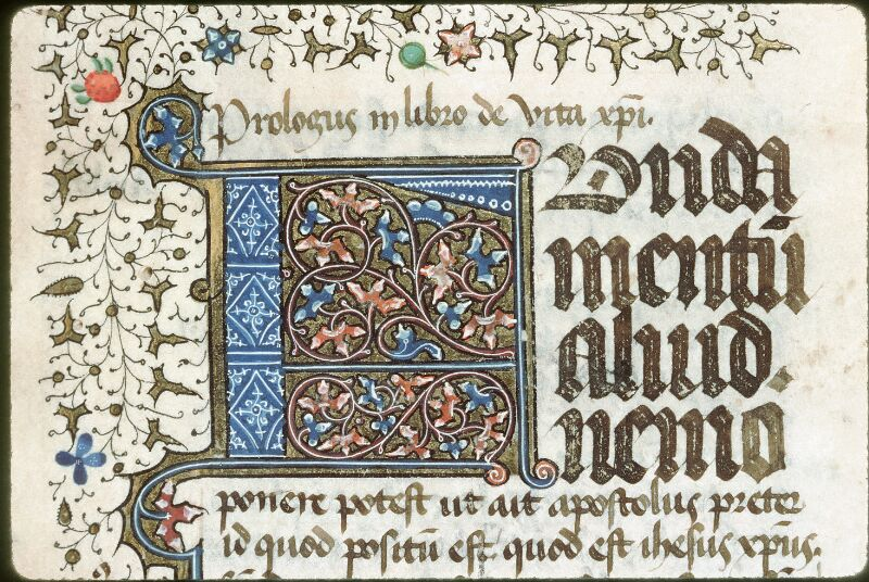 Tours, Bibl. mun., ms. 0045, f. 001 - vue 2