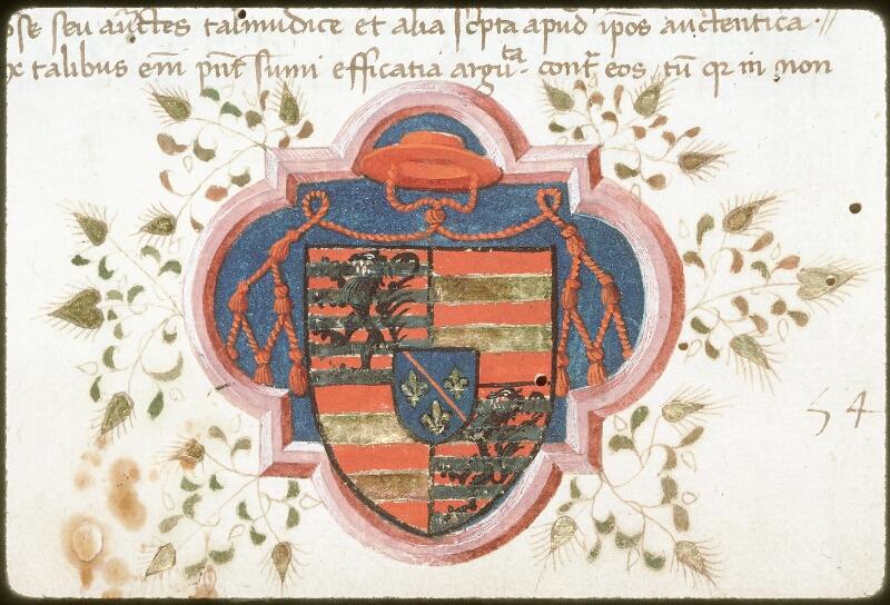 Tours, Bibl. mun., ms. 0051, f. 001 - vue 2