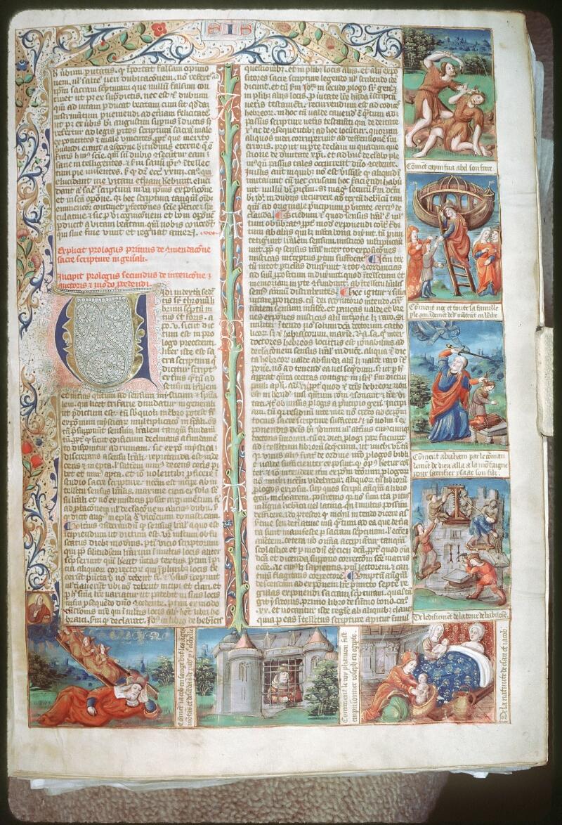 Tours, Bibl. mun., ms. 0052, f. 002 - vue 1