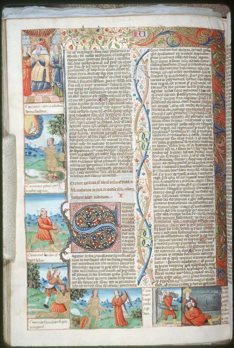 Tours, Bibl. mun., ms. 0052, f. 167v - vue 1