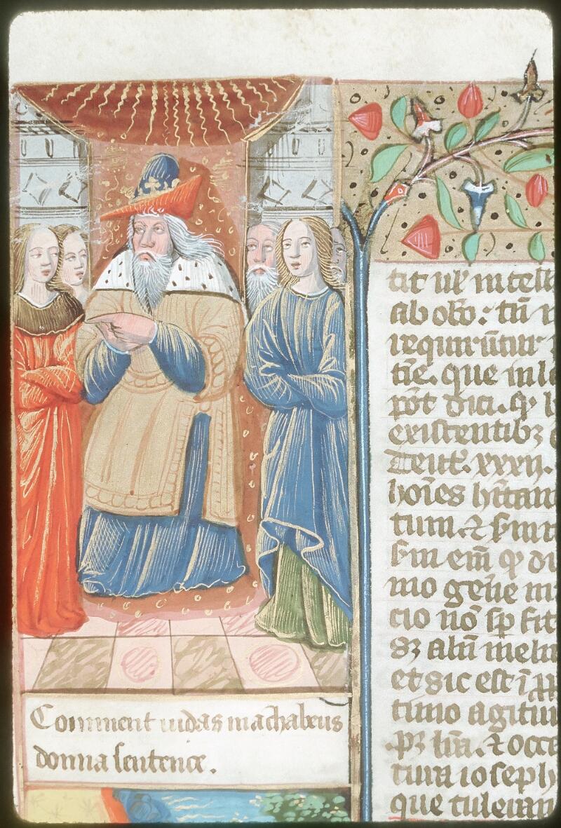 Tours, Bibl. mun., ms. 0052, f. 167v - vue 2