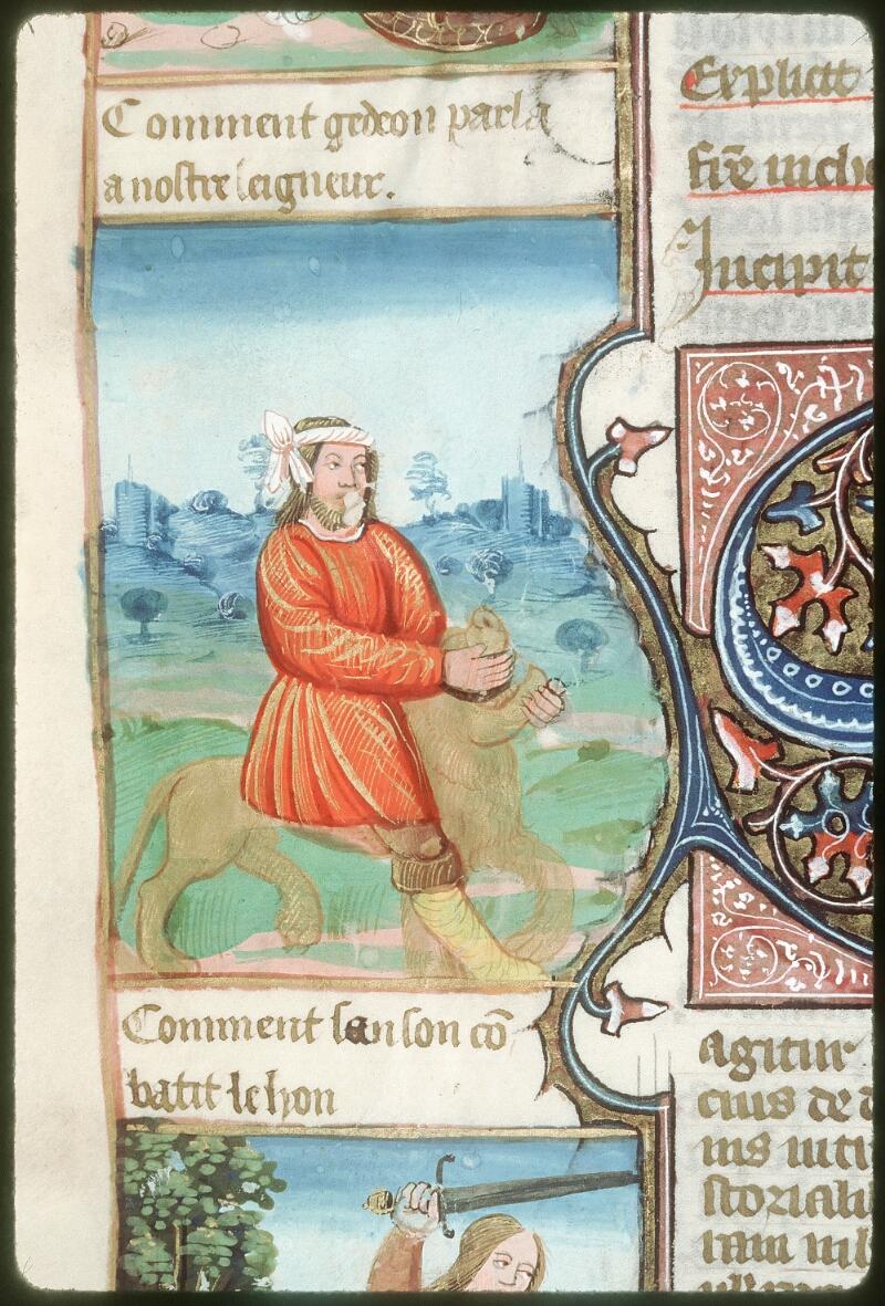 Tours, Bibl. mun., ms. 0052, f. 167v - vue 4