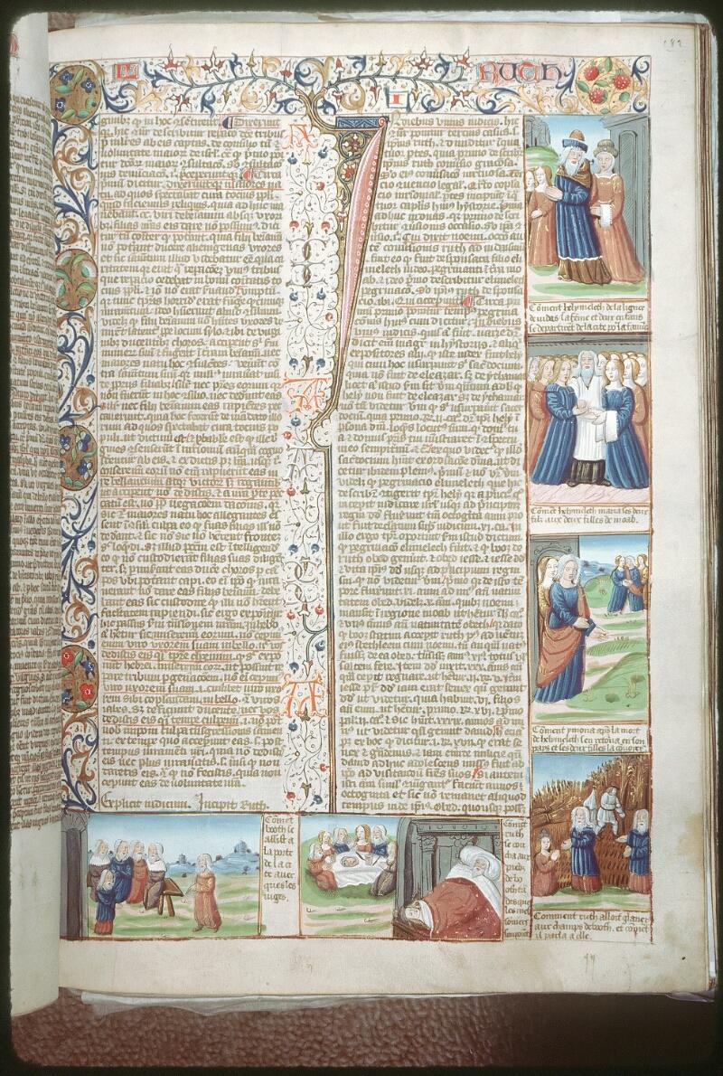 Tours, Bibl. mun., ms. 0052, f. 182 - vue 1